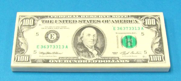 100 Dollar Bill Eraser