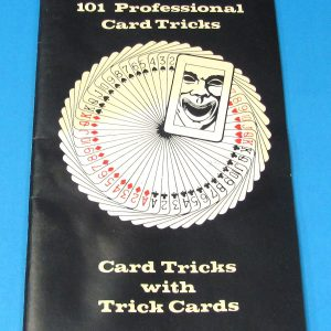 101 Professional Card Tricks Card Tricks With Trick Cards