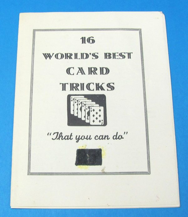 16 World's Best Card Tricks