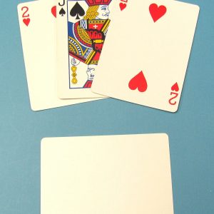 3 Card Monte (Poker Size)