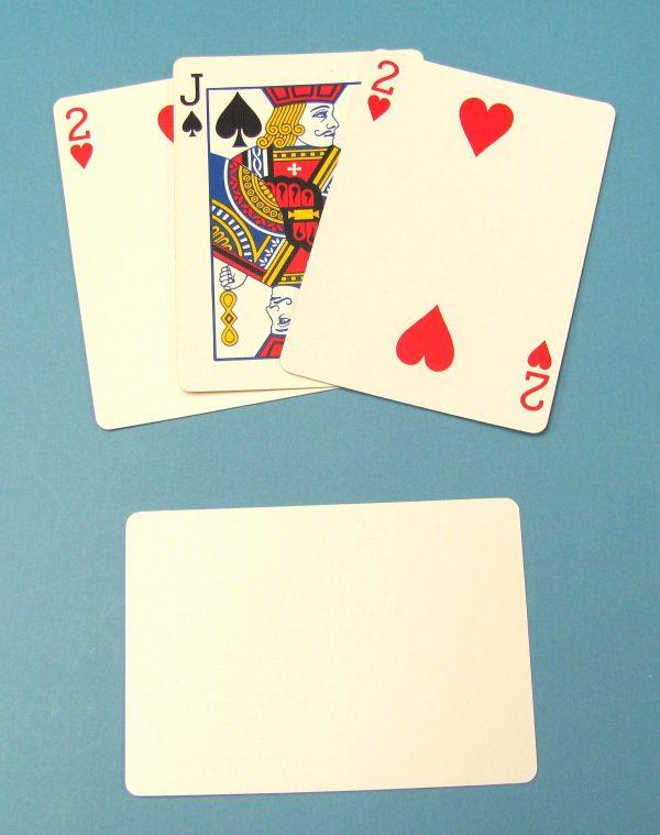 3 Card Monte (Poker Size)