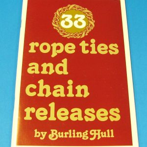 33 Rope Ties and Chain Releases