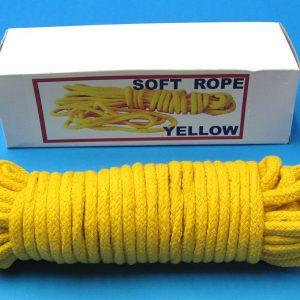 50 Feet Soft Yellow Rope