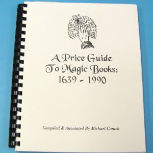 A Price Guide to Magic Books 1639 - 1990