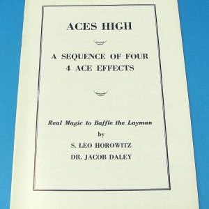 Aces High - A Sequence of Four Ace Effects