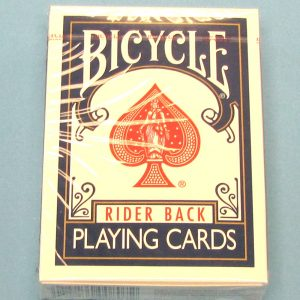 Bicycle Poker Size Deck #808 Blue Backs