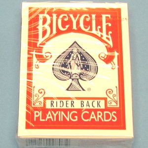 Bicycle Poker Size Deck #808 Red Backs