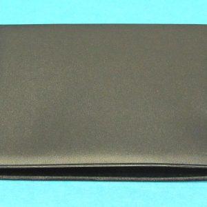 Black Vinyl Card Wallet