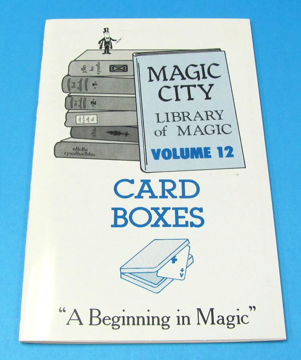 Card Boxes (Magic City Library of Magic Volume 12)