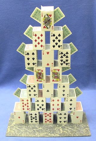 Card Castle QH at top
