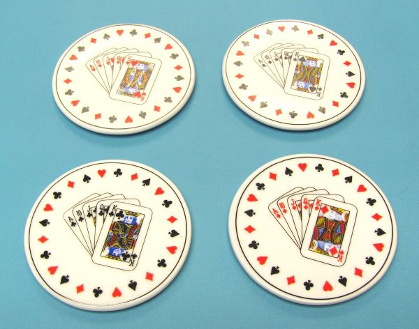 Ceramic Card Coasters
