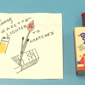 Cigarette Lighter to Matches