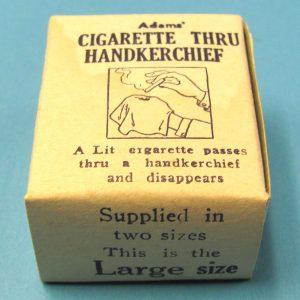 Cigarette Thru Handkerchief (Large)