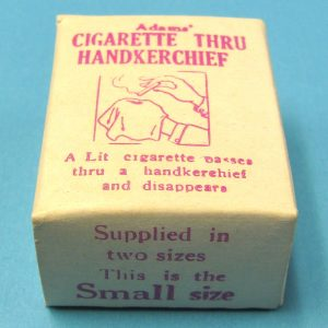 Cigarette Thru Handkerchief (Small)