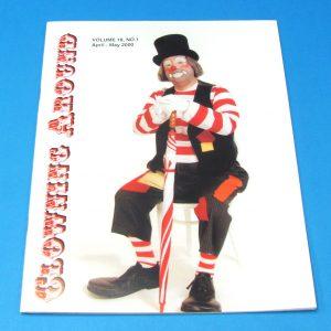 Clowning Around Magazine (April 2000 Jim Strutter Roberts)