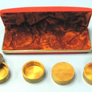 Coin Box Set - Brass (Joe Cabral)