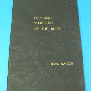 Dai Vernon';s Symphony of The Rings