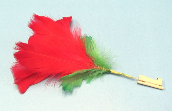 Deluxe Lit Match to Flower (Red)