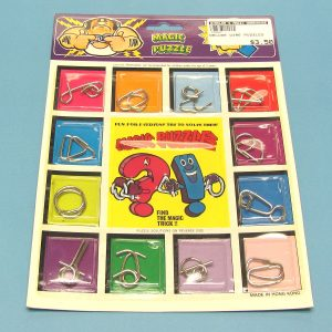 Deluxe Magic Wire Puzzles Set