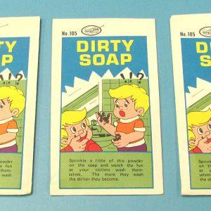 Dirty Soap Joke (Powder) Package of 3