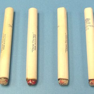 Dummy Lit Cigarettes - Paper - Vintage England - Lot of 6