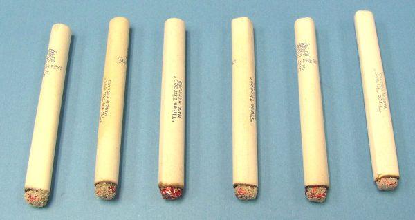 Dummy Lit Cigarettes - Paper - Vintage England - Lot of 6