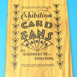 Exhibition Card Fans (Goodlette Dodson)
