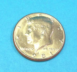 Expanded Kennedy 50-Cent Shell