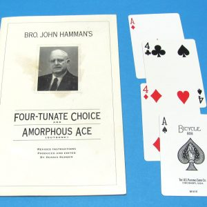 Four-Tunate Choice and Amorphous Ace Outdone
