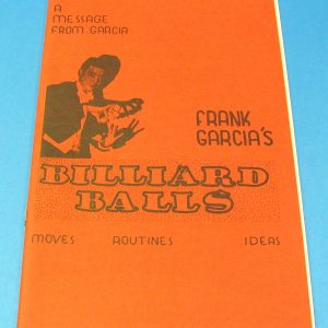 Frank Garcia's Billiard Balls (Red Covers)