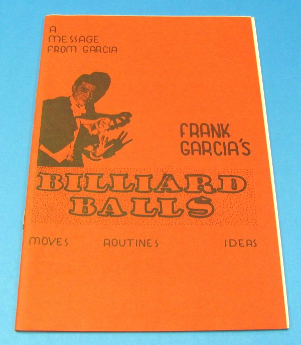 Frank Garcia's Billiard Balls (Red Covers)