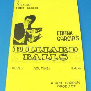 Frank Garcia's Billiard Balls (Yellow Covers)