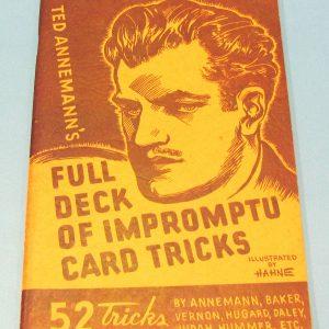Full Deck of Impromptu Card Tricks (First Edition)