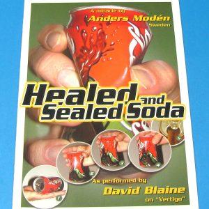 Healed and Sealed Soda