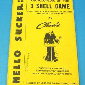 Hello Sucker Encyclopedia of the 3 Shell Game