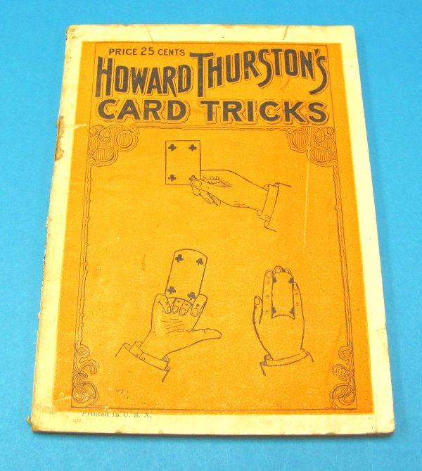 Howard Thurston's Card Tricks (Book)