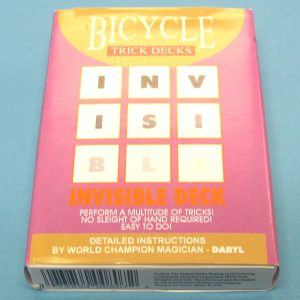 Invisible Deck Blue Back Bicycle