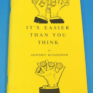 It's Easier Than You Think Volume 2 Signed
