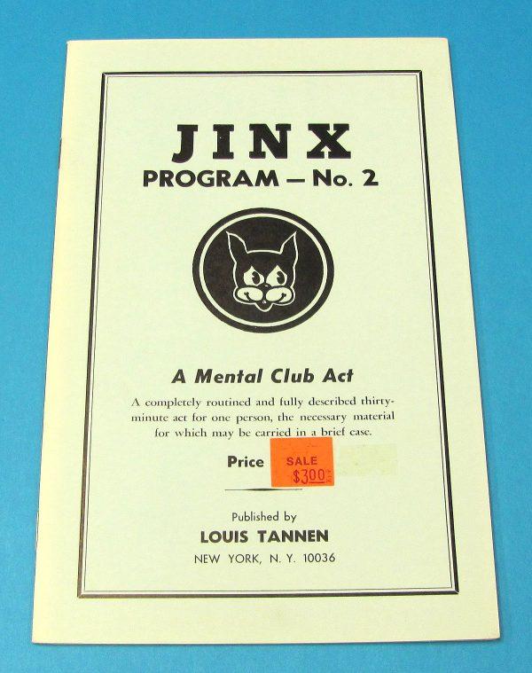 Jinx Program 2 - A Mental Club Act