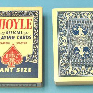 Jumbo Hoyle Blue Backed Cards (Incomplete)
