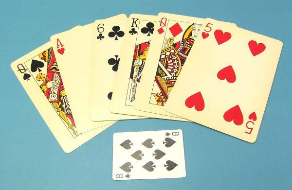 Jumbo Six Card Repeat
