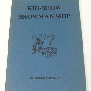 Kid-Show Showmanship (Posgate)