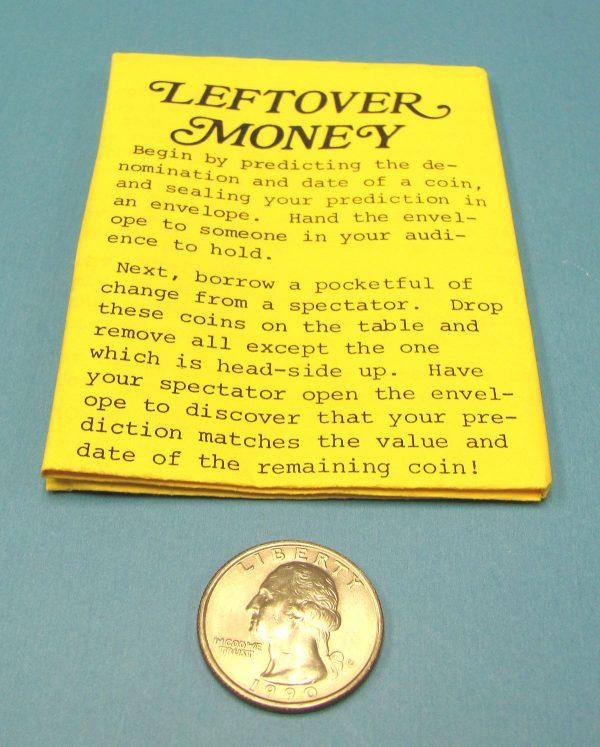 Leftover Money (Sterling)