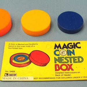 Magic Coin Nested Box