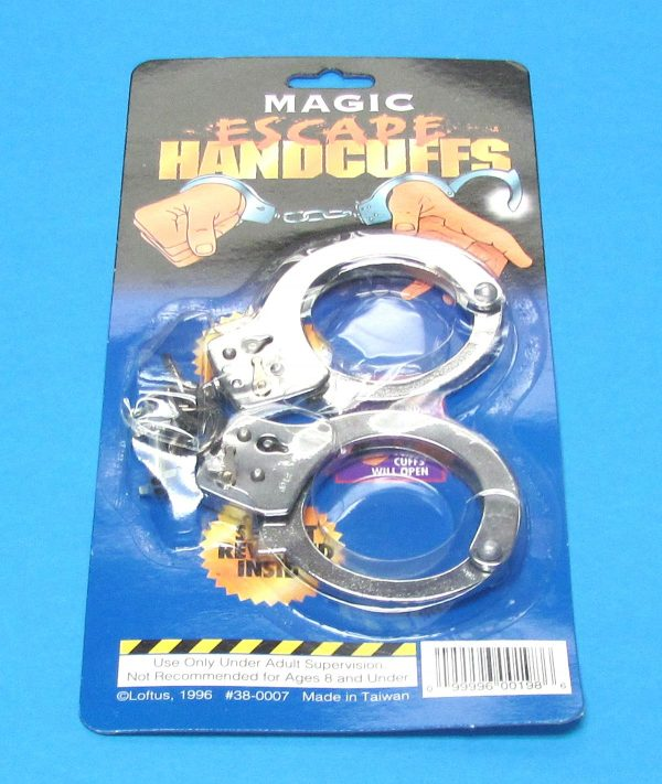 Quick Release Handcuffs