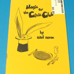Magic For The Civic Club