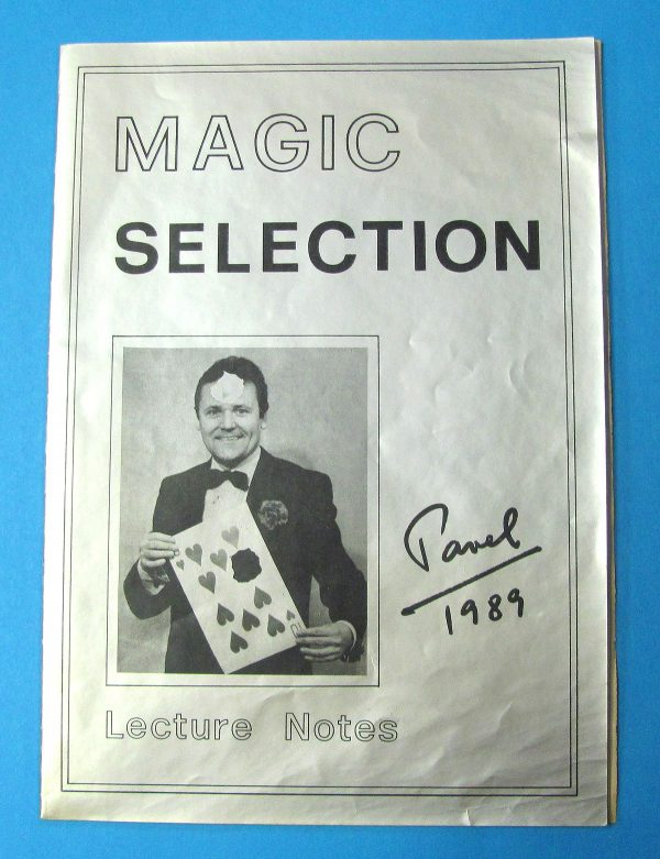 Magic Selection - Pavel Lecture Notes - Signed
