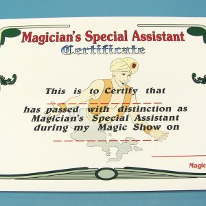 Magician's Special Assistant Certificate Wand