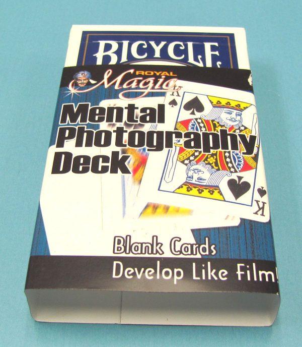 Mental Photography Deck (Blue Backs)