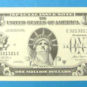 Million Dollar Bill